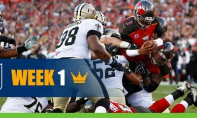 Tampa Bay Buccaneers vs. New Orleans Saints NFL Week 1 (2020)