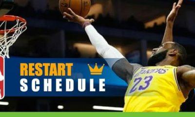 NBA Restart Schedule Released