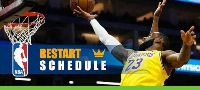 NBA Restart Schedule Released