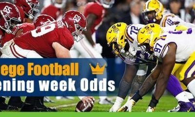 College Football Opening Week - Betting Details and Odds