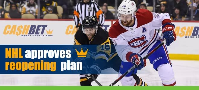 NHL Approves Reopening Plan with – Opening Round Matchups Set