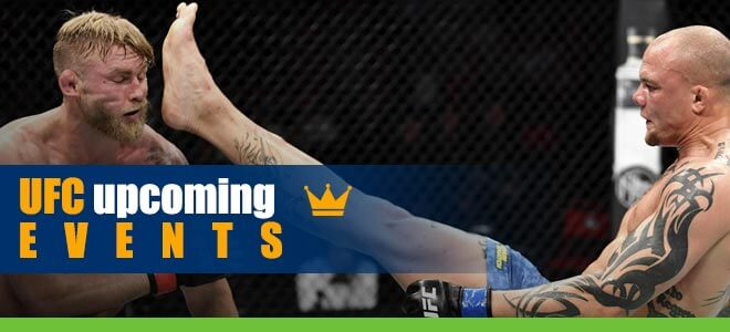 UFC Upcoming Events Show Tremendous Momentum