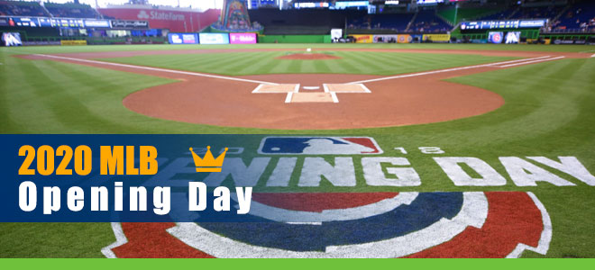 2020  MLB Opening Day Betting Schedule and Team vs. Team Analysis