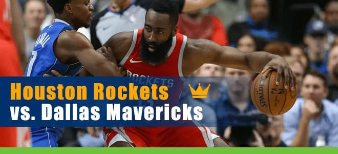 Houston Rockets vs. Dallas Mavericks NBA betting preview and odds