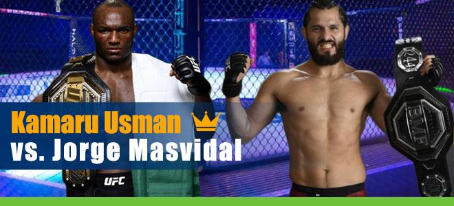 Kamaru Usman vs. Jorge Masvidal UFC 251 Welterweight Championship odds and Picks