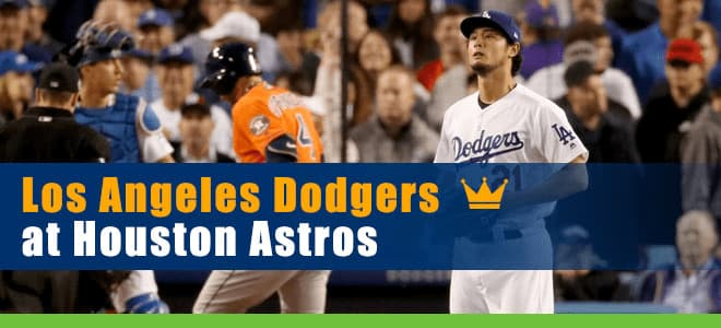 Los Angeles Dodgers vs. Houston Astros betting predictions and odds