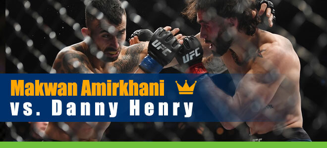 Makwan Amirkhani vs. Danny Henry UFC 251 betting preview, odds and picks