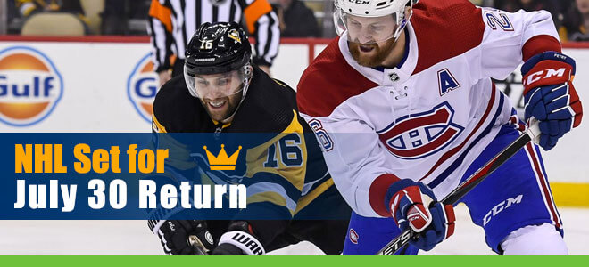NHL Betting Set for July 30 Return