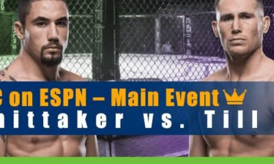 Robert Whittaker vs. Darren Till UFC on ESPN 14 Betting Odds, Predictions and preview