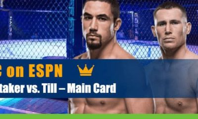 UFC Fight Night: Whittaker vs. Till Main Card odds and predictions