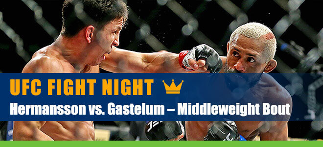 Jack Hermansson vs. Kelvin Gastelum Middleweight Bout Betting Odds, Picks and Analysis