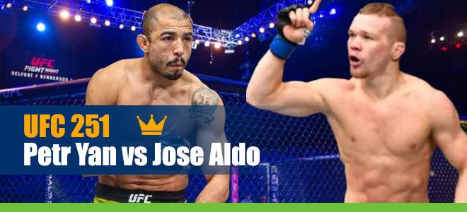 Petr Yan vs. Jose Aldo Odds for UFC 251