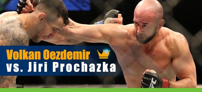 Volkan Oezdemir vs. Jiri Prochazka UFC 251 Betting Preview and Odds