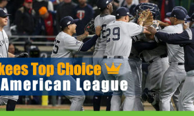 Yankees Top CashBet Choice for American League Odds Pennant