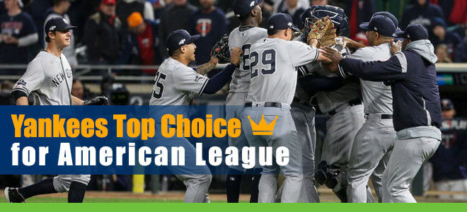 Yankees Top CashBet Choice for American League Odds