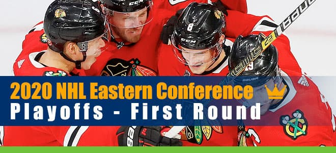2020 NHL Eastern Conference Playoffs First Round Odds