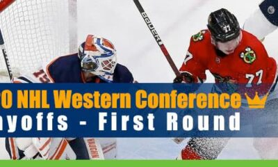 2020 NHL Western Conference Playoffs First Round Betting Odds