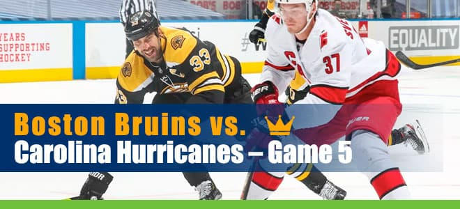 Boston Bruins vs. Carolina Hurricanes – Game 5 betting preview and odds