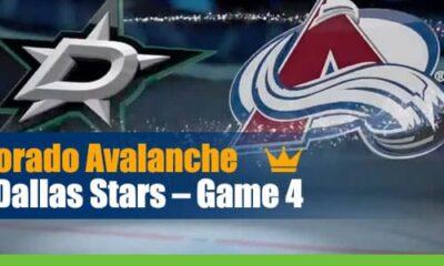 Colorado Avalanche vs. Dallas Stars Game 4 NHL Betting