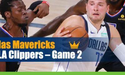 Dallas Mavericks vs. LA Clippers NBA Playoffs Game 2 betting odds