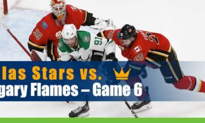 Dallas Stars vs. Calgary Flames Hockey Betting Game 6 odds