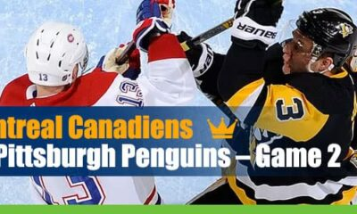 Montreal Canadiens vs. Pittsburgh Penguins – Game 2 Odds and picks