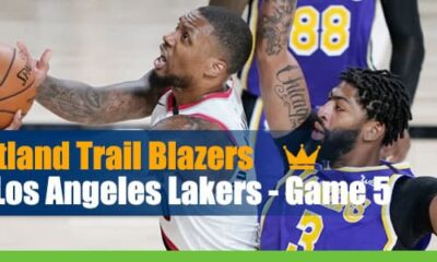 NBA Playoffs Portland Trail Blazers vs. Los Angeles Lakers – Game 5