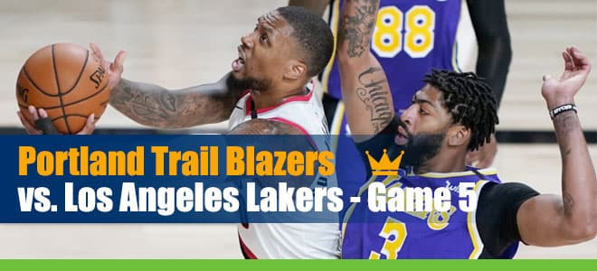 Trail Blazers vs. Lakers Game 5 NBA Playoffs Betting Analysis and Odds