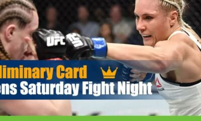 UFC Fight Night 174 Preliminary Card odds and picks