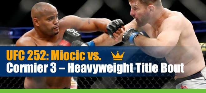Stipe Miocic vs. Daniel Cormier 3 Betting UFC 252