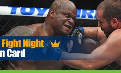 UFC Fight Night:Lewis vs. Oleinik Main Card Odds