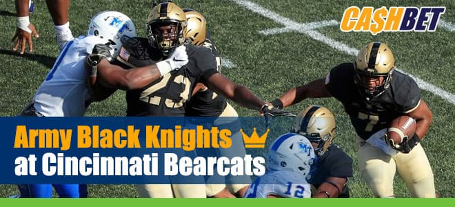 Army Black Knights vs. Cincinnati Bearcats NCAAF betting preview, odds and picks