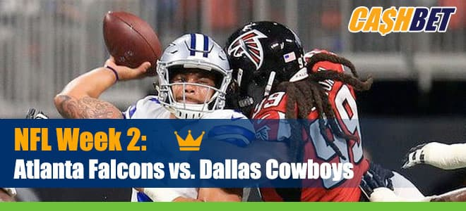 Atlanta Falcons at Dallas Cowboys NFL Betting and Odds
