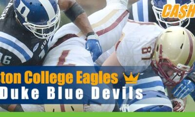 Boston College Eagles vs. Duke Blue Devils NCAA Football Betting Preview