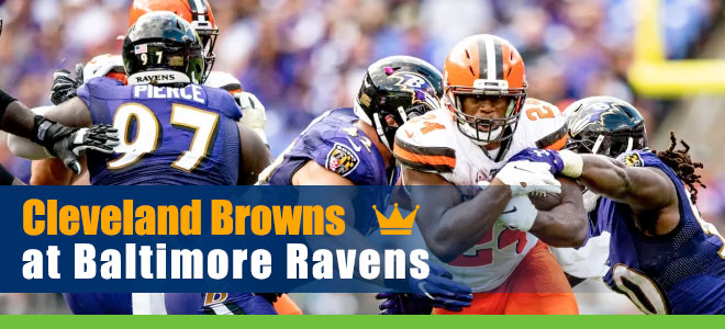 Cleveland Browns at Baltimore Ravens NFL Betting Preview