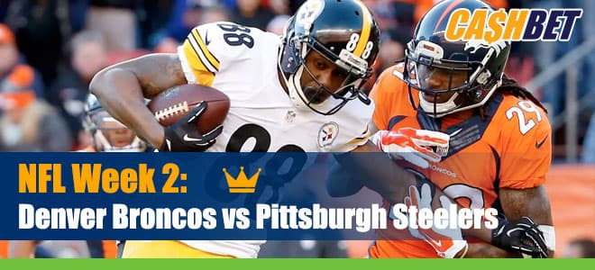 Denver Broncos vs. Pittsburgh Steelers NFL betting preview, odds and picks