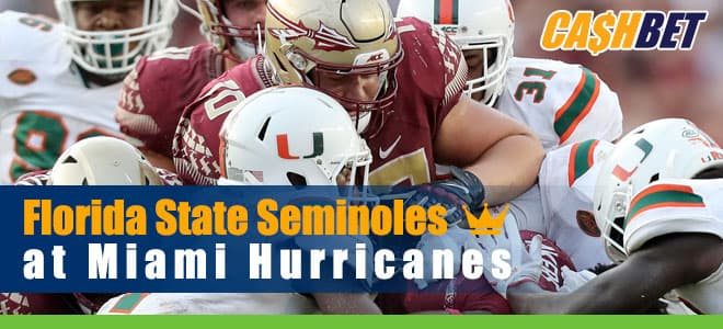Florida State Seminoles vs. Miami Hurricanes NCAA Football betting, preview, odds and picks