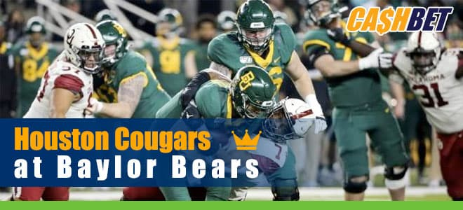 Houston Cougars vs. Baylor Bears College Football betting preview and odds