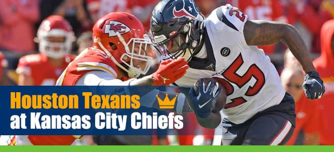Houston Texans at Kansas City Chiefs NFL Betting preview, odds and picks