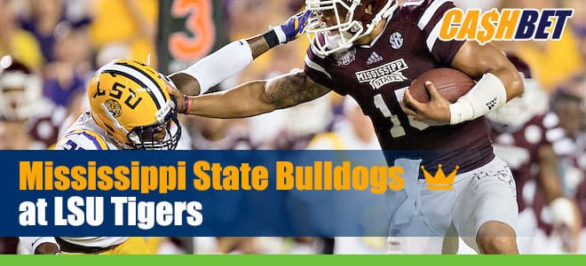Mississippi State Bulldogs vs. LSU Tigers Betting Predictions, Picks and Odds