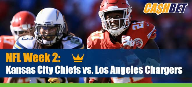 NFL Week 2 Betting: Chiefs vs. Chargers Updated Odds, Picks and Expert Analysis