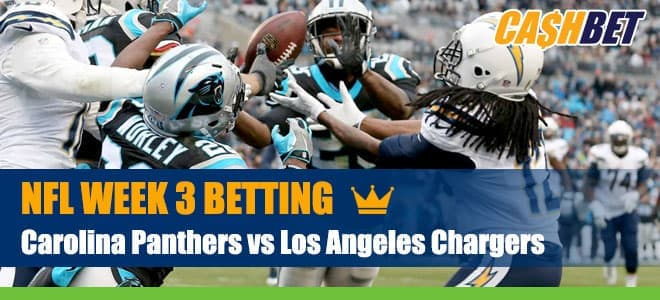 Carolina Panthers vs. Los Angeles Chargers NFL Week 3 Betting, Preview, Odds and Picks