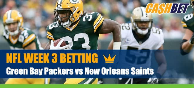 Green Bay Packers vs. New Orleans Saints NFL Week 3 Picks, Predictions and Odds
