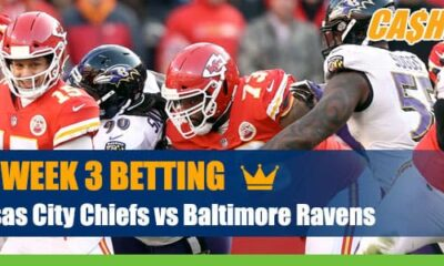 Kansas City Chiefs vs. Baltimore Ravens NFL Week 3 betting odds and picks