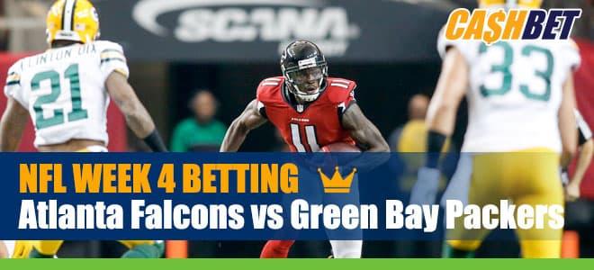 Atlanta Falcons vs. Green Bay Packers NFL betting, odds and picks