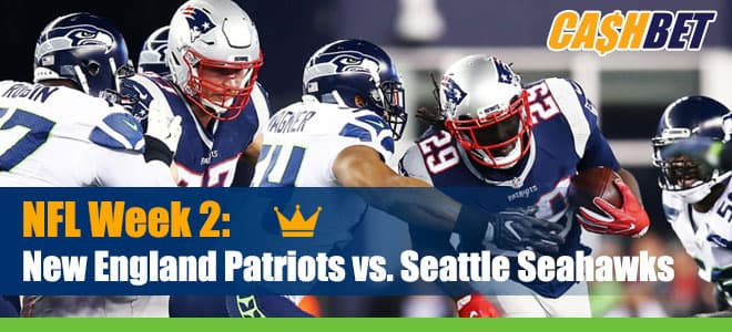 New England Patriots vs. Seattle Seahawks on NBC SNF, Odds and Picks