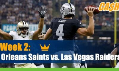 New Orleans Saints vs. Las Vegas Raiders NFL Betting, preview and odds