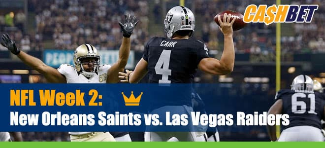 Raiders Play First Las Vegas Home Game with Saints on Monday Night