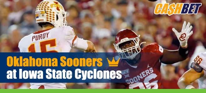 Oklahoma Sooners vs. Iowa State Cyclones NCAA Football betting preview