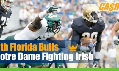South Florida Bulls vs. Notre Dame Fighting Irish betting preview, odds and picks